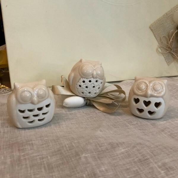 Gufetti-porcellana-fondazione-lilli-funaro