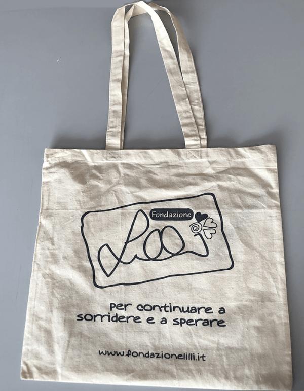 borsa-shopper-bianca-fondazione-lilli-funaro