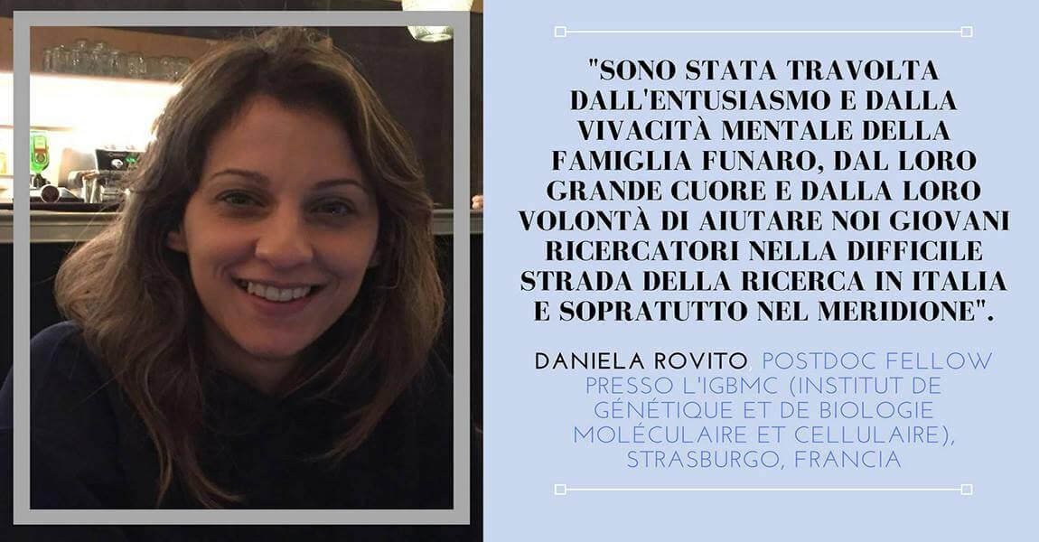 Racconta la ricerca – Daniela Rovito
