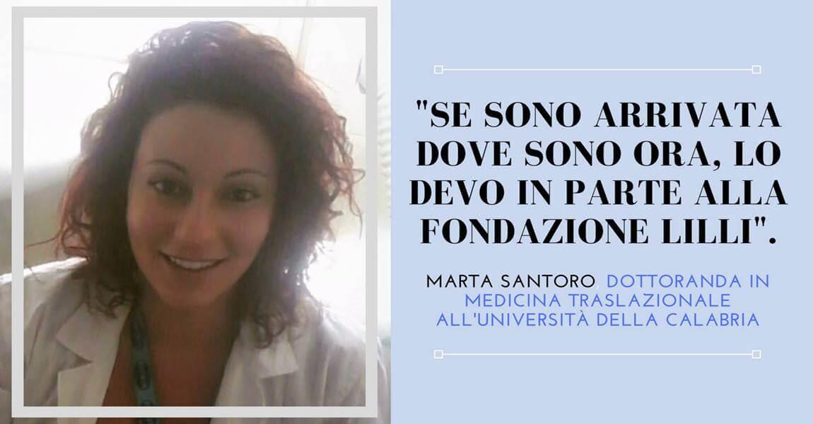 Racconta la ricerca – Marta Santoro